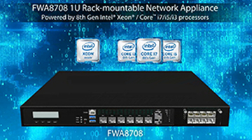 FWA8708 1U Rack-mountable Network Appliance