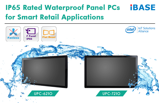 IP65 Rated Waterproof Panel PCs for Smart Retail Applications